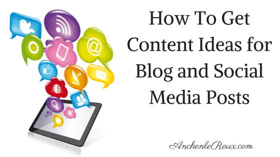 Content Creation, Blog post ideas, Blog post themes, Social media ideas,