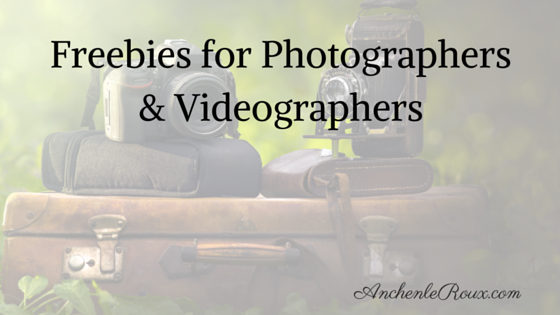 Photographer, Videograper, Freebies